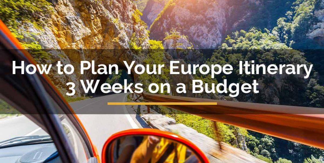 europe itinerary 3 weeks