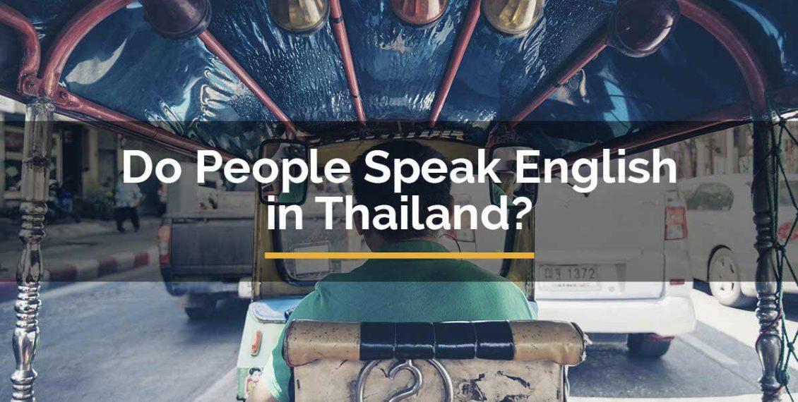 Do People Speak english in Thailand