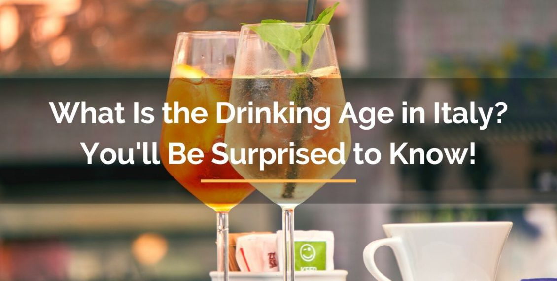 drinking age in Italy