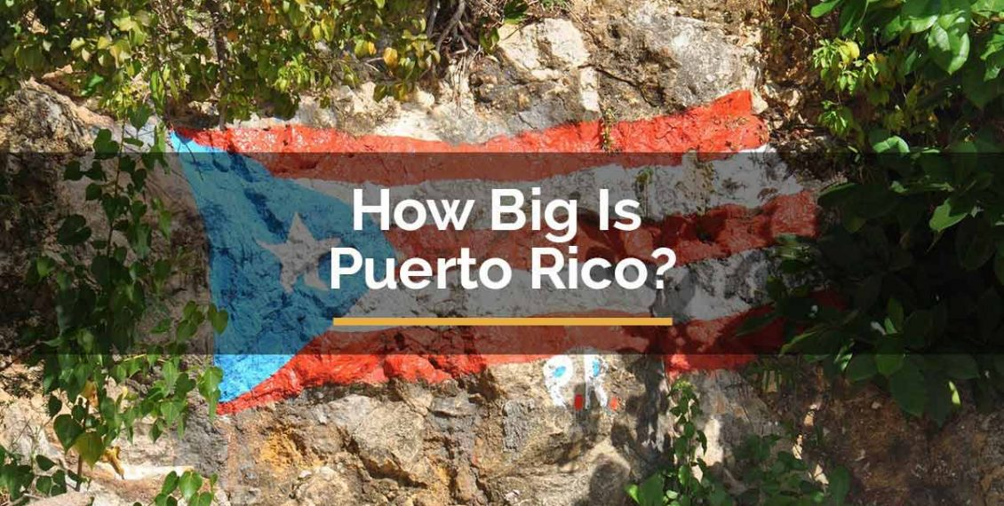 how big is puerto rico