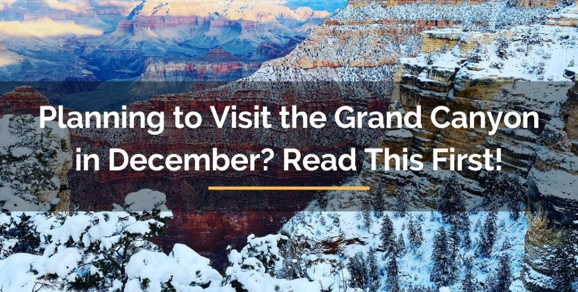 visit the Grand Canyon in December