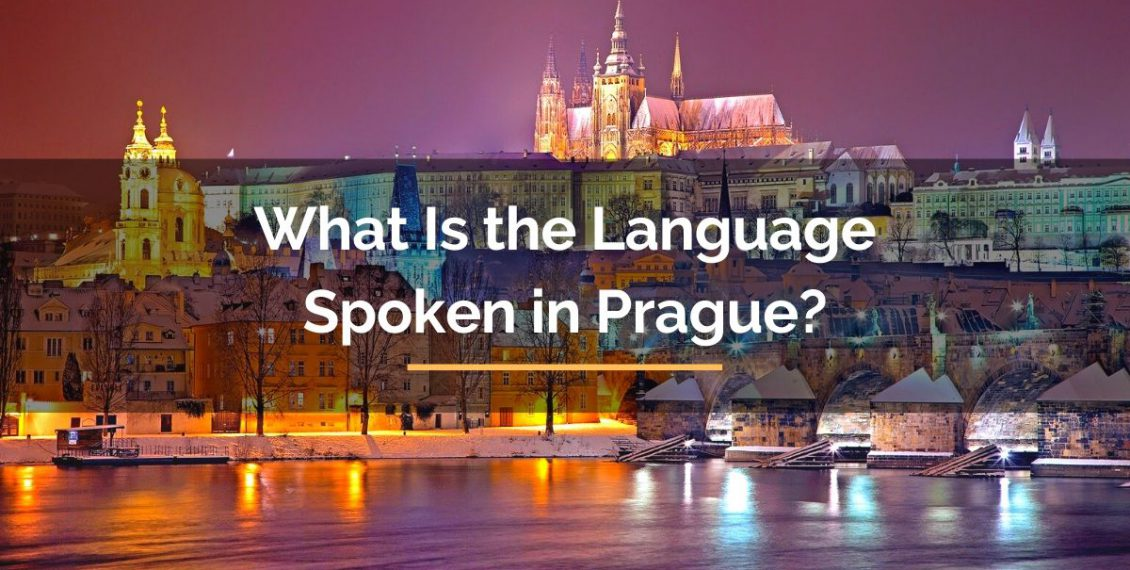 What is the language spoken in Prague