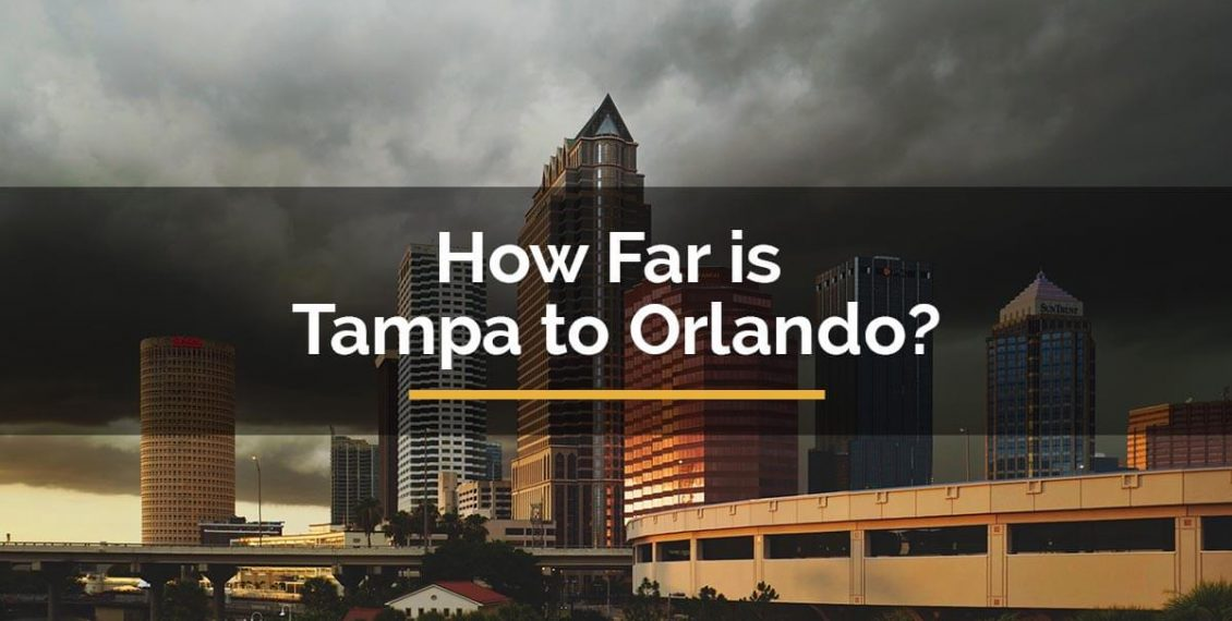 how far is tampa from orlando