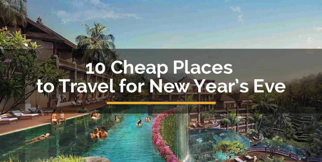 cheap places to travel for new years