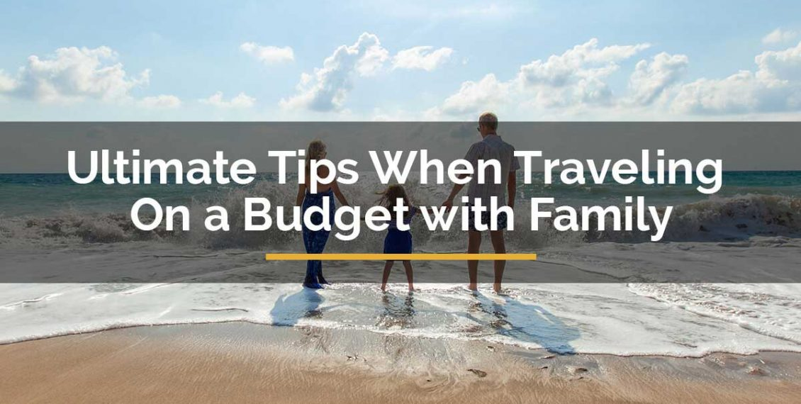 traveling on a budget with family