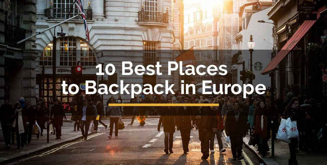 best places to backpack in Europe