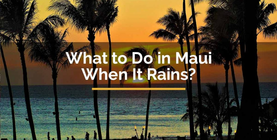 what to do in maui when it rains