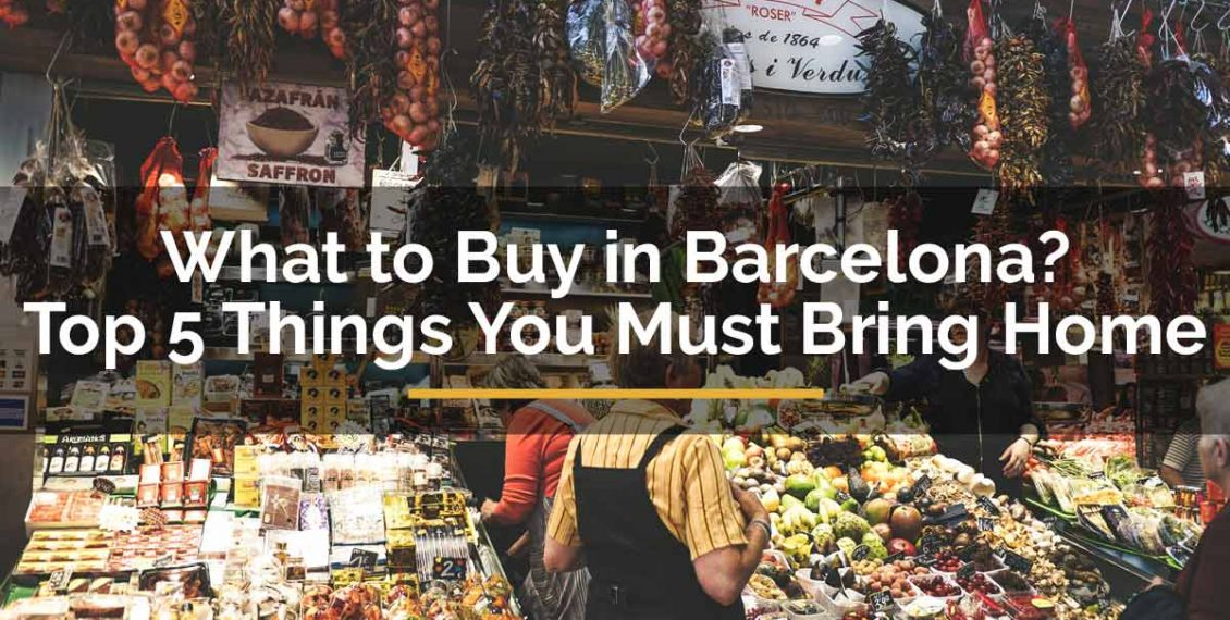 what to buy in barcelona