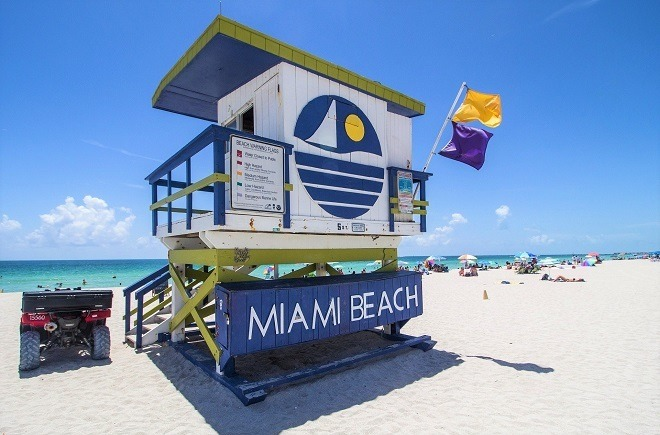 Miami Beach summer destination