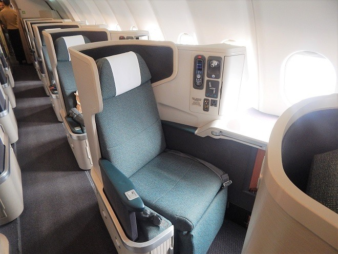 holiday in europe fly business class