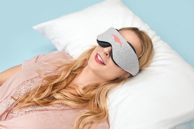 increase sleep quality with eye mask