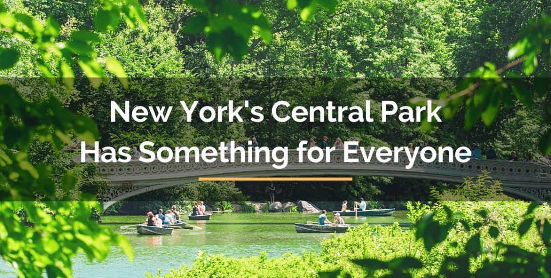 New York's Central Park Has Something for Everyone