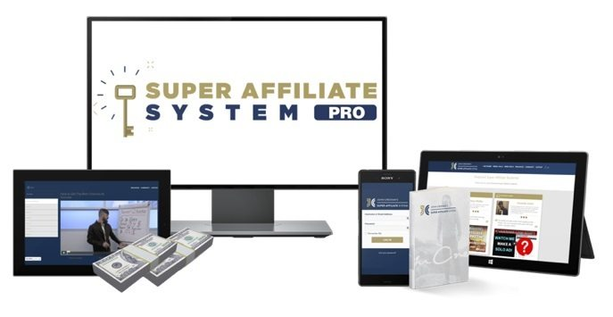 Super Affiliate System marketing course