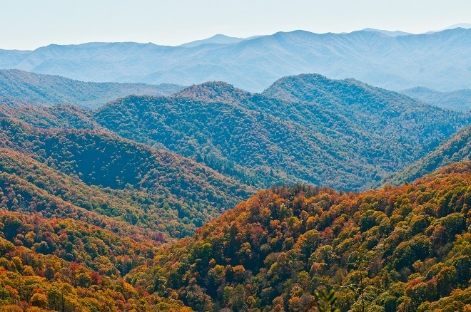 best time to visit Smoky Mountains for fall colors