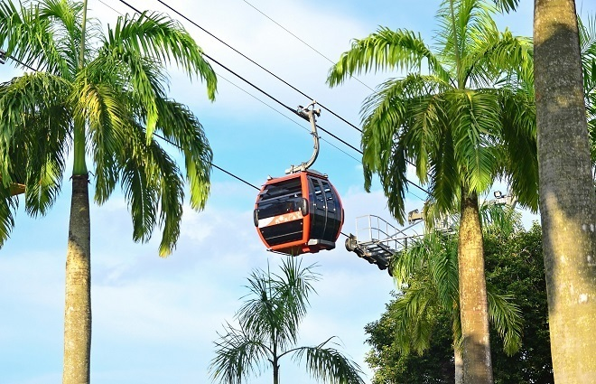 top things to do in sentosa island cable car