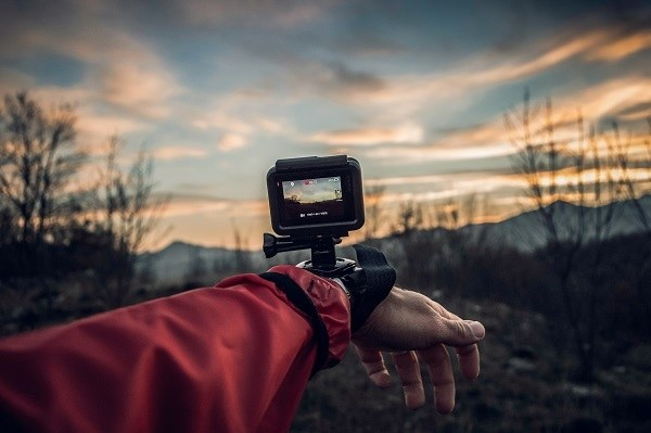 travel with action camera
