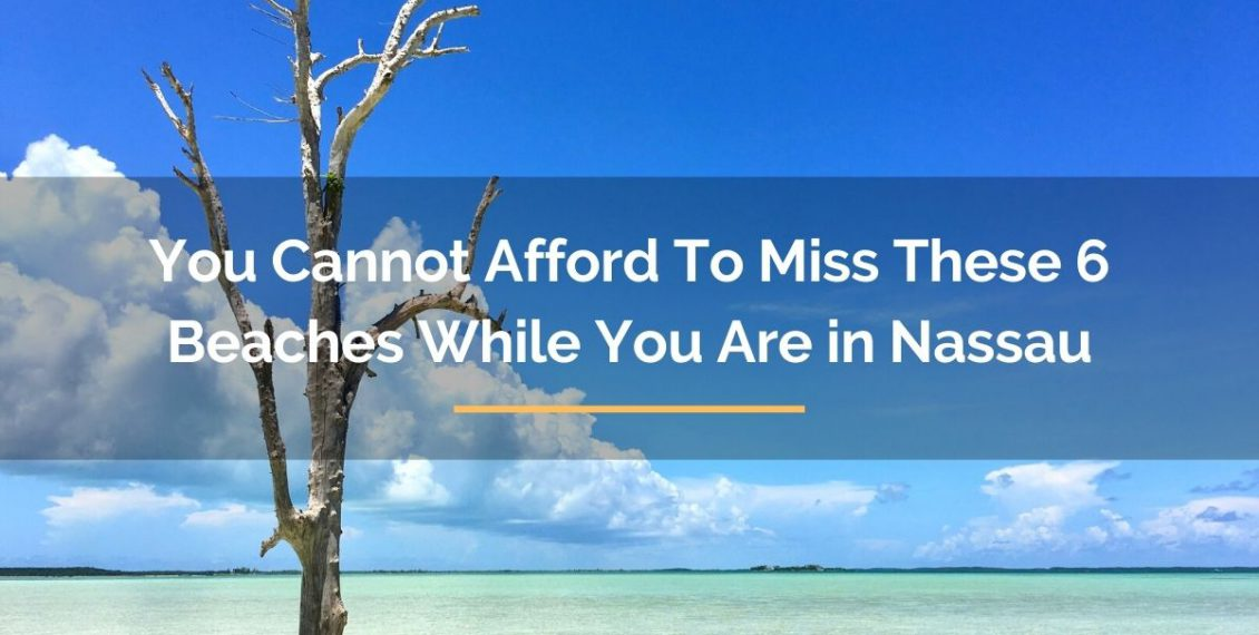 6 beaches in nassau bahamas you should not miss