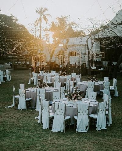 outdoor wedding event